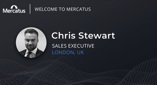 Mercatus Welcomes Chris Stewart to the Team