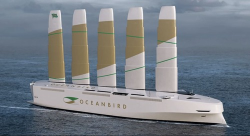 Greening Our Shipping: Wind-Powered Cargo Ships Can Change Future of Freight Cutting Emissions By 90% - Good News Network