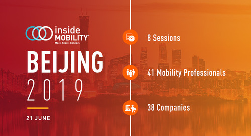 insideMOBILITY® Beijing 2019 Event Highlights