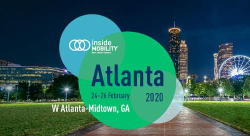 Gearing up for insideMOBILITY Atlanta