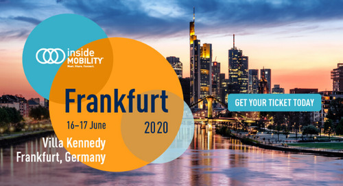 REGISTER TODAY: insideMOBILITY® Frankfurt 2020
