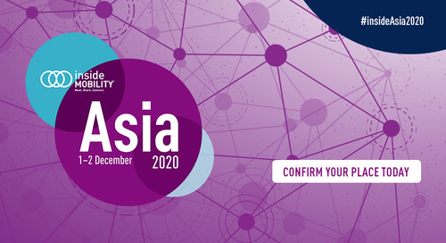 REGISTER TODAY: insideMOBILITY Asia 2020