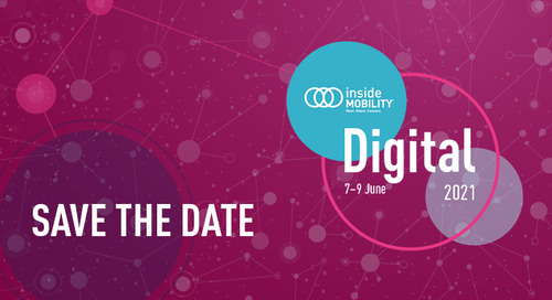 SAVE THE DATE: insideMOBILITY® Digital 2021