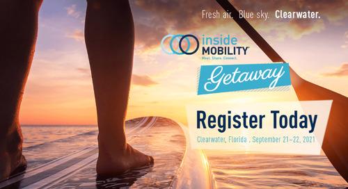 Registration is open: insideMOBILITY Getaway 2021