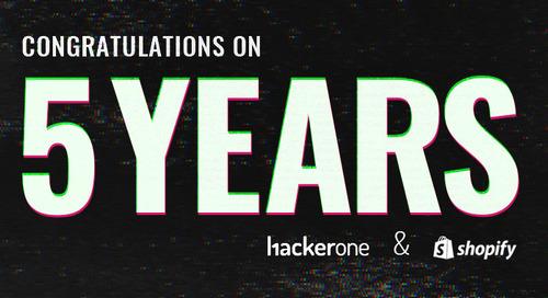 Shopify Celebrates 5 Years on HackerOne