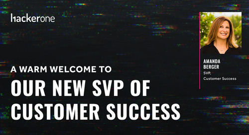 A Warm Welcome To Our New SVP of Customer Success