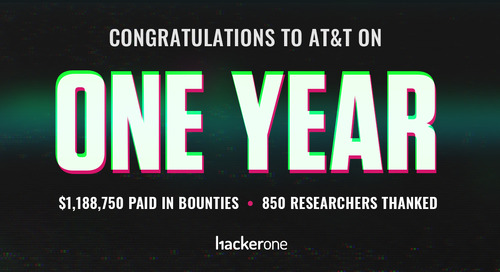 AT&T Celebrates $1 Million Awarded to Hackers in One Year