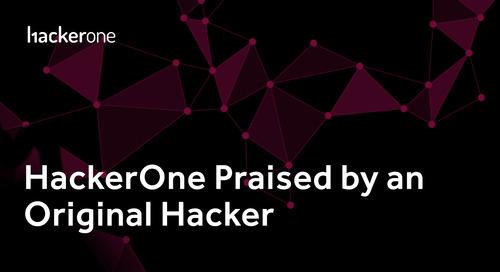 HackerOne Praised By An Original Hacker