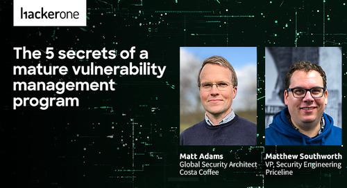 The 5 Secrets Of A Mature Vulnerability Management Program