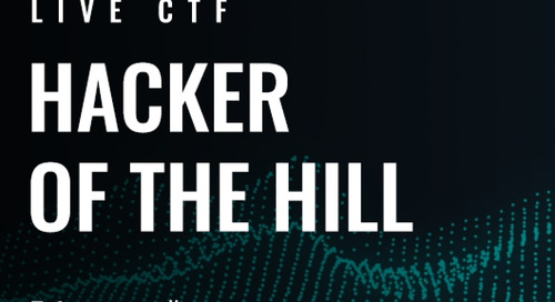 Announcing The Hacker of The Hill