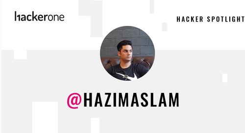 Hacker Spotlight: Interview with hazimaslam