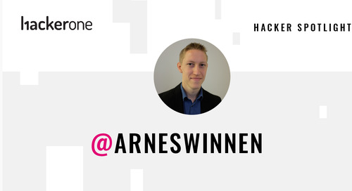 Hacker Spotlight: Interview with arneswinnen