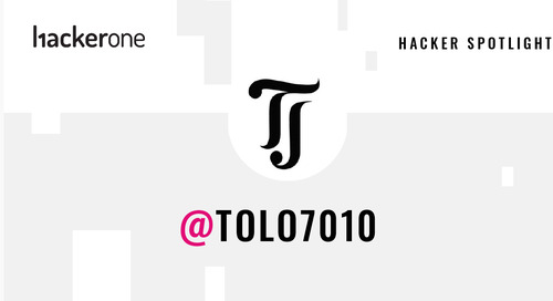 Hacker Spotlight: Interview with tolo7010