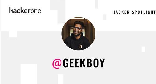 Hacker Spotlight: Interview with Geekboy