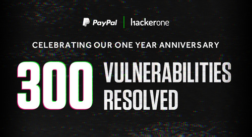 PayPal Celebrates Its First Anniversary on HackerOne
