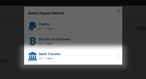 Faster and Better: New Bank Transfer Payment Feature for Hackers