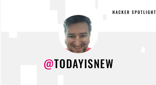 Hacker Spotlight: Interview with todayisnew