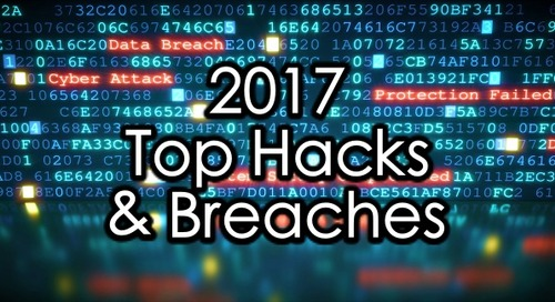 2017's Top hacks and data breaches