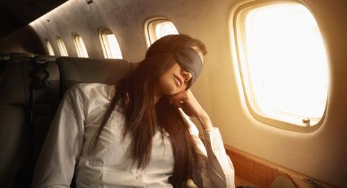 Jangan Tidur Saat Pesawat Lepas Landas dan Mendarat