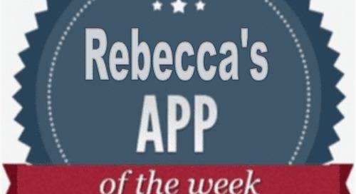 Rebecca's App of the Week:  Hopper