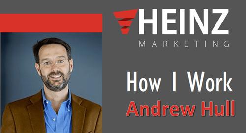 """""""How I Work"""":  Andrew Hull, President & Founder at Elixiter @andrewhull #HowIWork"""