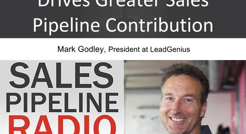 Sales Pipeline Radio, Episode 97: Q&A with Mark Godley