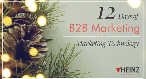 12 Days of B2B Marketing: Technology (Day 6)