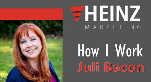 """""""How I Work"""":  Juli Bacon, President of JB Consulting Systems @baconHR #HowIWork"""