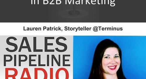 Sales Pipeline Radio, Episode 100: Q&A with Lauren Patrick
