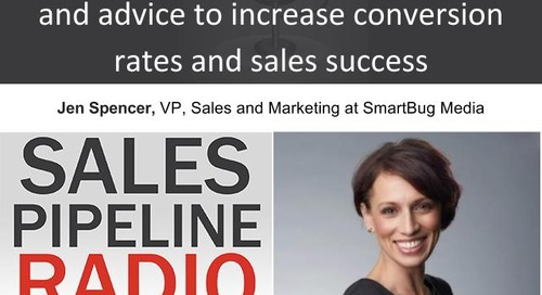 Sales Pipeline Radio, Episode 99: Q&A with Jen Spencer
