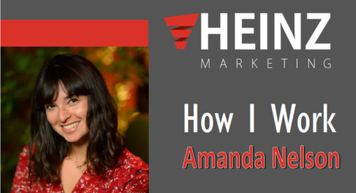 """How I Work"":  Amanda Nelson, Community Marketing Director at Salesforce @amandalnelson #HowIWork"