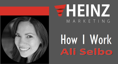 """""""How I Work"""":  Ali Selbo, Chief Experience Officer for Tegrita Consulting Group @_alijae #HowIWork"""