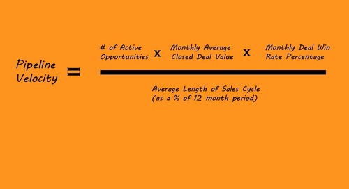 The Sales Pipeline Velocity Calculator {Download}