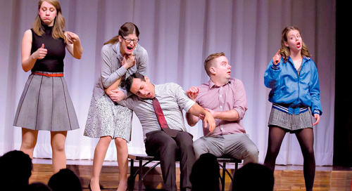 Five business (and life) lessons learned from improv