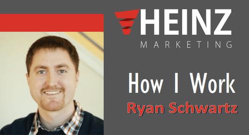 """""""How I Work"""":  Ryan Schwartz, VP of Marketing at MongoDB @schwartzrw #HowIWork"""