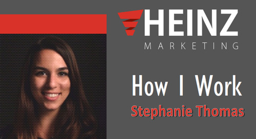 """How I Work"":  Stephanie Thomas, Senior Field Marketing Manager for Demandbase @StephLynnThomas #HowIWork"