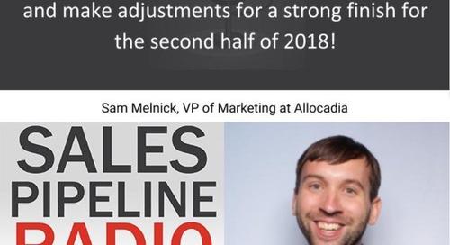 Sales Pipeline Radio, Episode 115: Q&A with Sam Melnick @SamMelnick