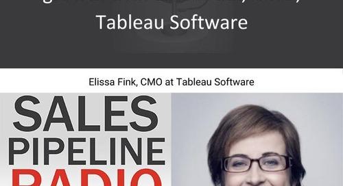 Sales Pipeline Radio, Episode 114: Q&A with Elissa Fink @elissfink