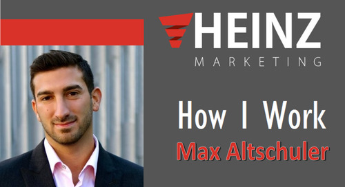 """How I Work"":  Max Altschuler, Founder & CEO of Saleshacker @HackItMax #HowIWork"