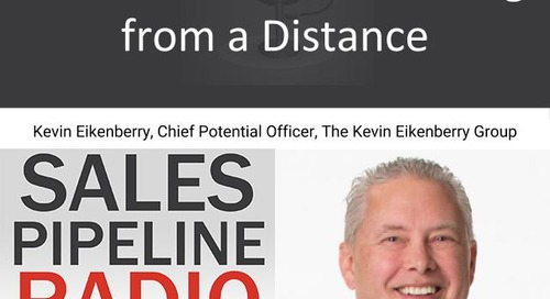Sales Pipeline Radio, Episode 121: Q&A with Kevin Eikenberry @KevinEikenberry