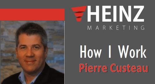 """How I Work"":  Pierre Custeau Vice President of Product Management Eloqua at Oracle @pierrecusteau #HowIWork"