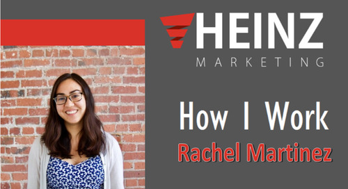 """How I Work"":  Rachel Martinez, Content Marketing Manager at Skilljar #HowIWork"