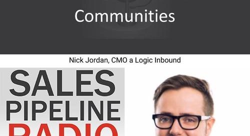 Sales Pipeline Radio, Episode 126: Q&A with Nick Jordan @nickfromseattle