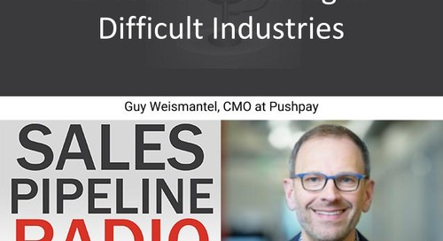 Sales Pipeline Radio, Episode 127: Q&A with Guy Weismantel @guyweismantel