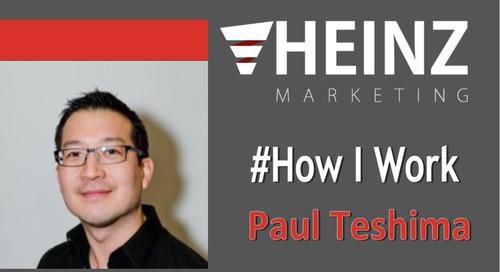 """How I Work"":  Paul Teshima, CEO at Nudge @paulteshima #HowIWork"