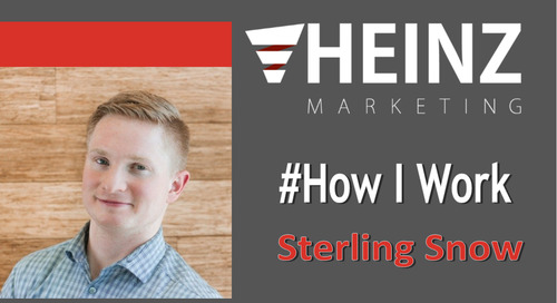 """""""How I Work"""":  Sterling Snow, Vice President of Marketing at Divvy 