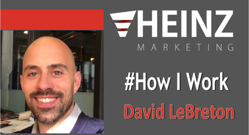 """How I Work"":  David LeBreton, Vice President, Pre-Production at Phytelligence @Phytelligence #HowIWork"