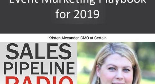 Sales Pipeline Radio, Episode 135: Q&A with Kristen Alexander @savvykristen