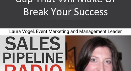Sales Pipeline Radio, Episode 137: Q&A with Laura Vogel @laurahvogel