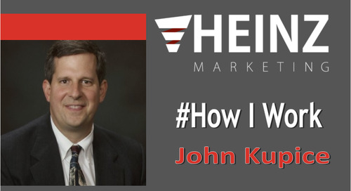 """How I Work"":  John Kupice, CEO of H-Source #HowIWork"